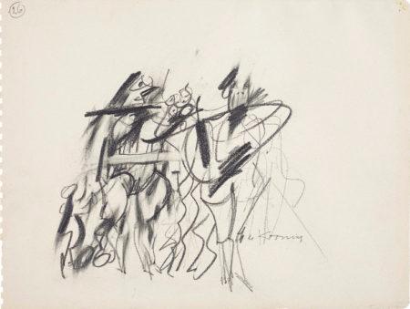 Willem de Kooning-Women (26)-1953