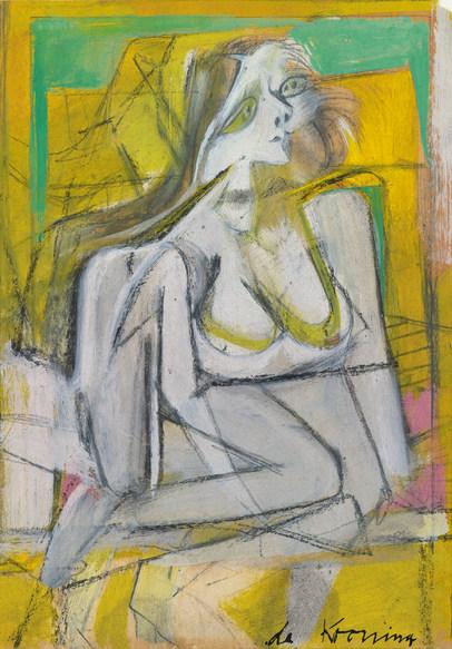 Willem de Kooning - Yellow Woman-1952