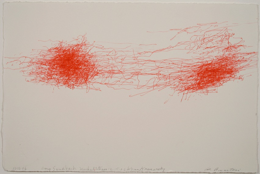 William Anastasi like new paper works in philadelphia contact gallery work view 2012