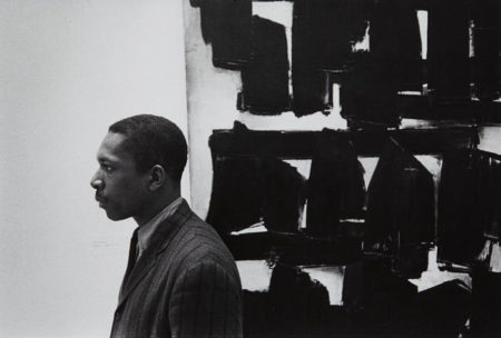 William Claxton-John Coltrane at the Guggenheim, New York City-1960