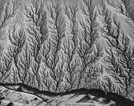 William Garnett-Erosion Near Salton Sea Calif.-1955