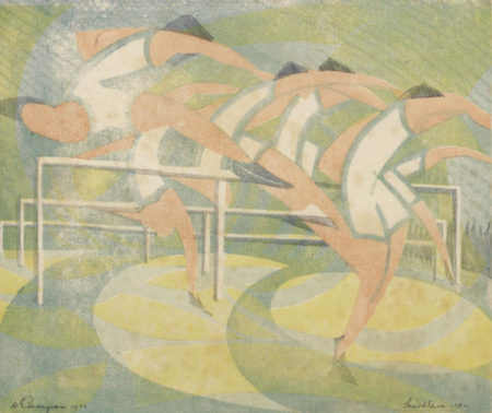 William Greengrass-Hurdlers-1932
