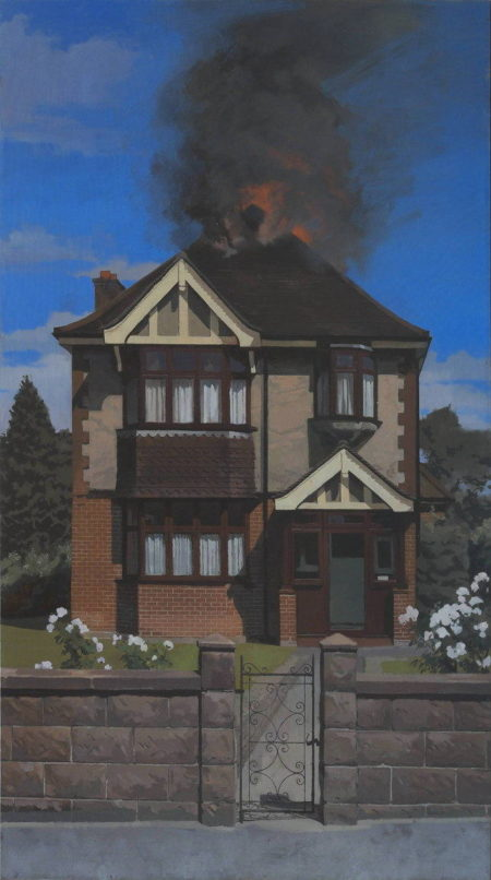 William Klose-Burning Down the House-2014