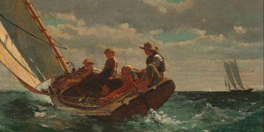 Winslow Homer - Breezing Up (A Fair Wind)