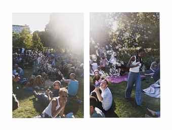 Wolfgang Tillmans-We Summer (Left), We Summer (Right)-2004