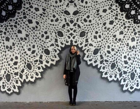 Knitting Lace Art in the Street - NeSpoon in an Interview