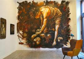 Urban art gallery