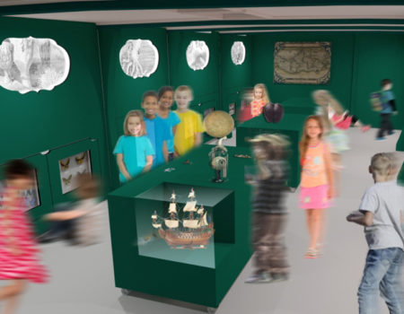 The Wunderkammer Ship Sets Sail! A Mobile, Interactive Museum Space, Travelling by Water