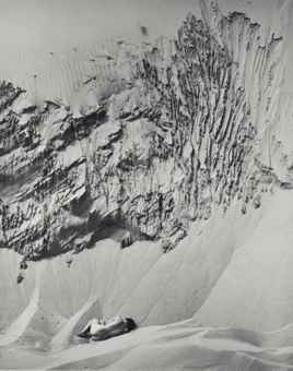 Wynn Bullock-Woman on Dunes-1972