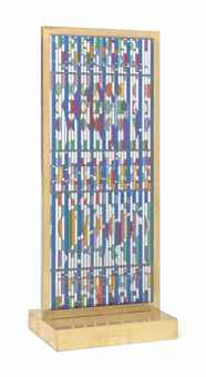 Yaacov Agam-Shalom Window-