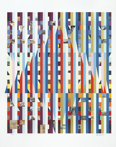 Yaacov Agam-Star of Love-1994
