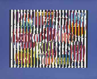 Yaacov Agam-Untitled-1977