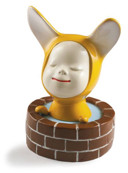 Yoshitomo Nara-Dreaming In The Fountain-2001