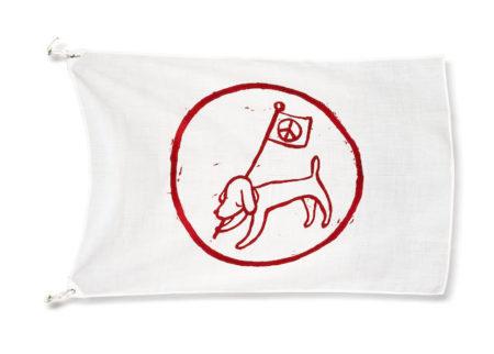 Yoshitomo Nara-Peace Flag-2001