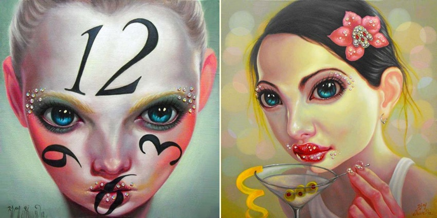 Young Chun - Facing Time, 2012 and Happy Hour, 2012 - Image Copyright Young Chun