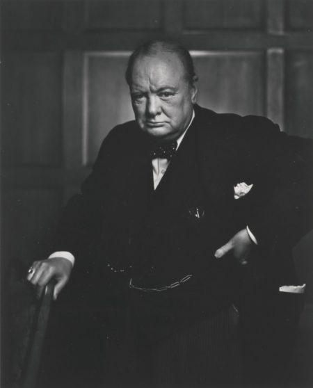 Yousuf Karsh-Winston Churchill-1941