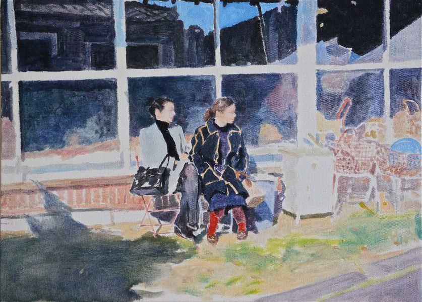 kumamoto born artist is exhibiting in boulogne billancourt after taking 2015 program