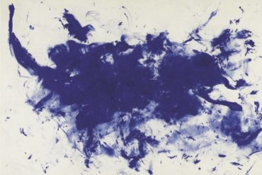 Yves Klein paintings