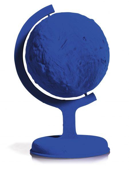 Yves Klein-Globe Terrestre Bleue (Rp 7)-1988