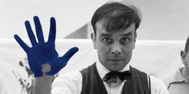 Yves Klein - Photo of the artist - Image via departurescom