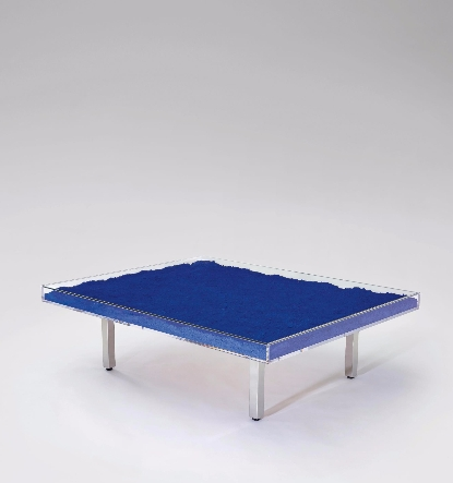 Yves Klein-Table Bleue-1961