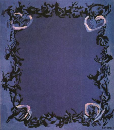 Zao Wou-Ki-Nocturne-1986