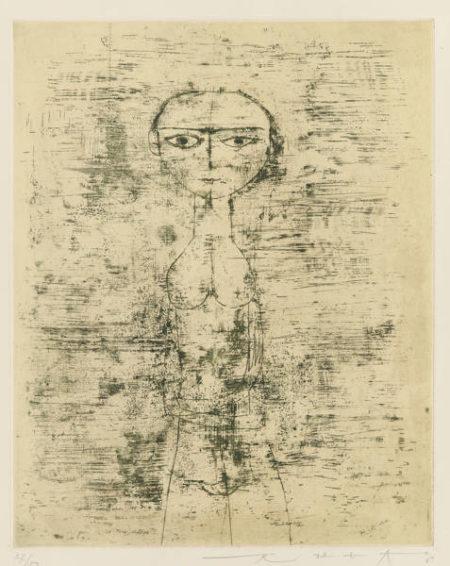 Nu Debout (Standing Nude)-1951