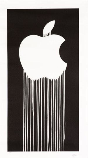 Zevs-Liquidated Apple-2011