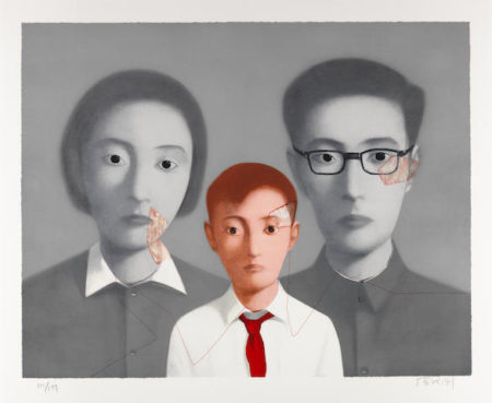 Zhang Xiaogang-Big Family-2003