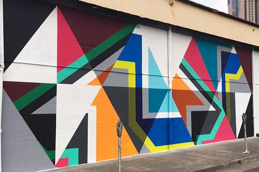 new mural by above