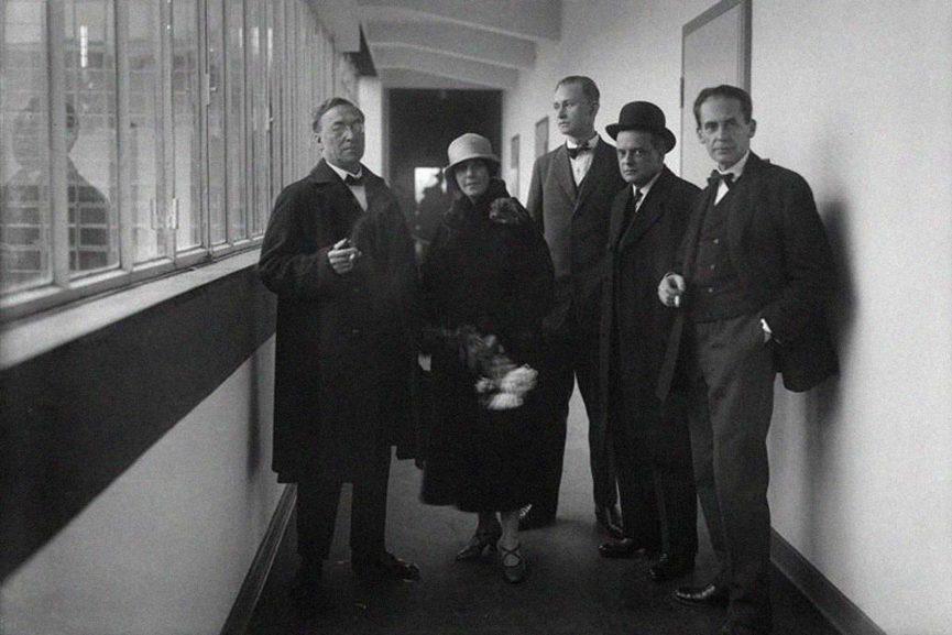 bauhaus artists architecture weimar 1919 germany new