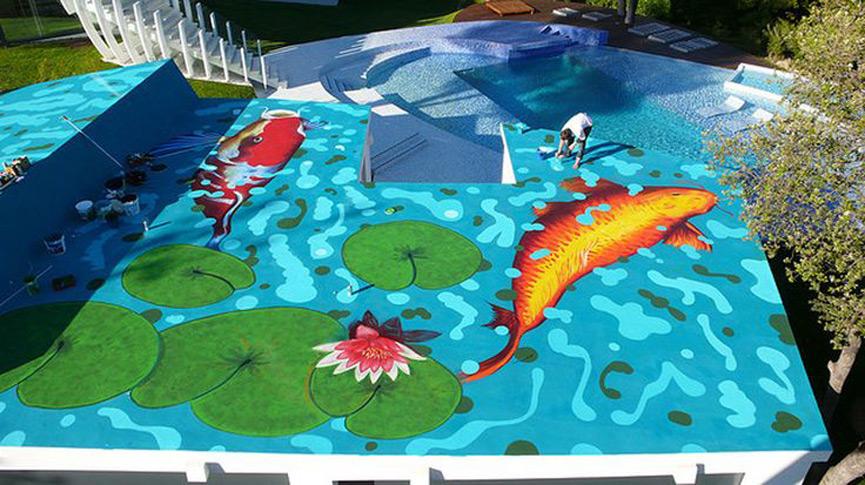 Casa Son Vida - Rooftop Artwork