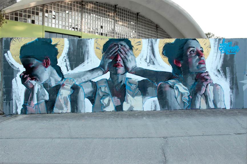 New wall by Dan Ferrer