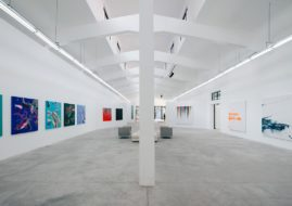 Futura kinetic action solo exhibition by converse at Magda Danysz gallery