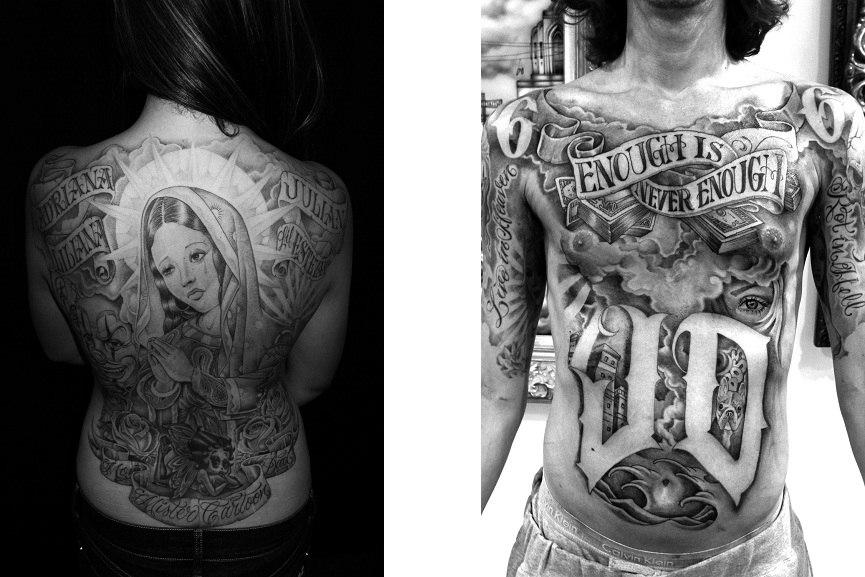 10 Urban Artists Who Tattoo Widewalls