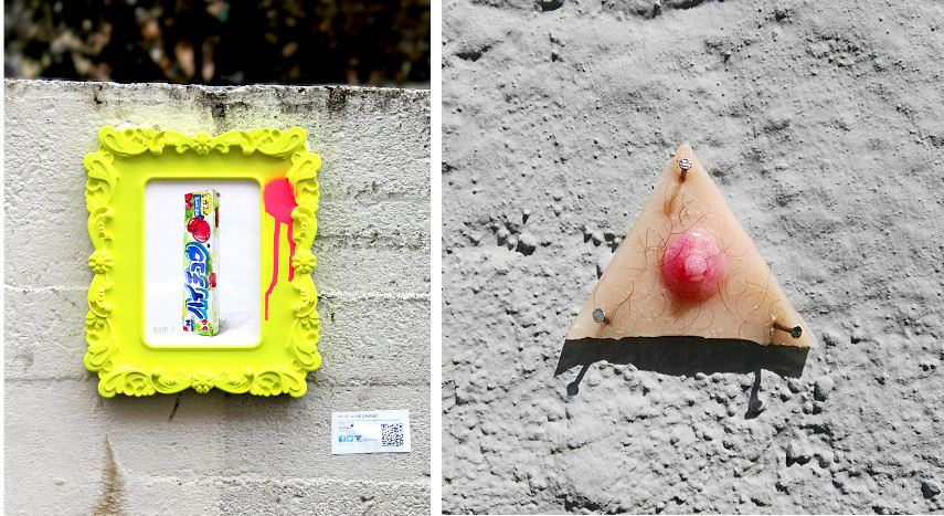 Contact Peintere X via Facebook, 30works galerie, or link this November article to support his policy