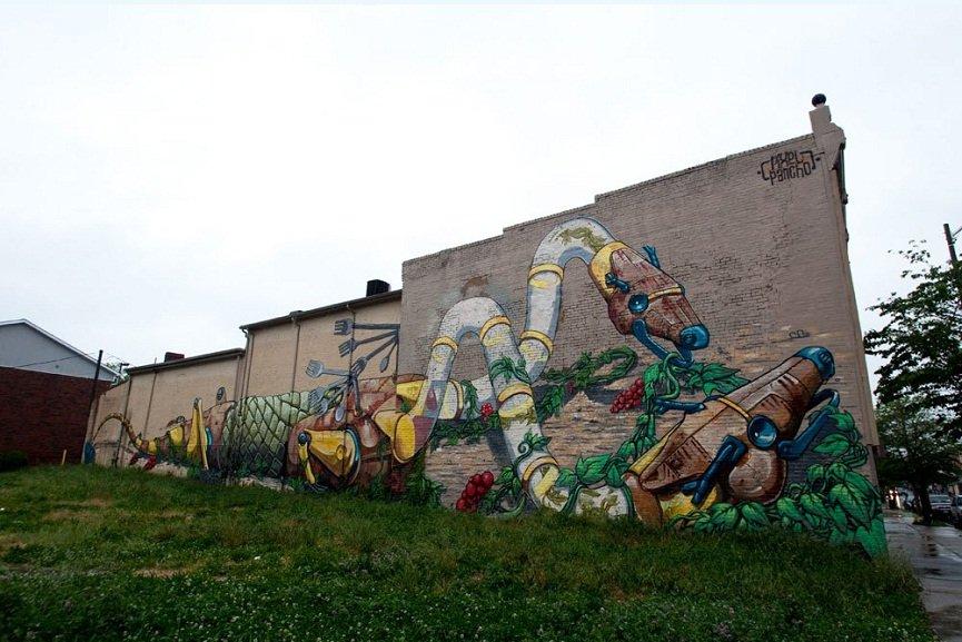 street art festival Richmond Mural Project