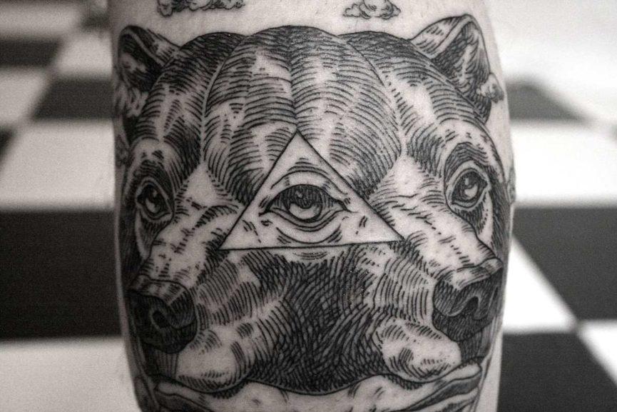 urban art tattoo