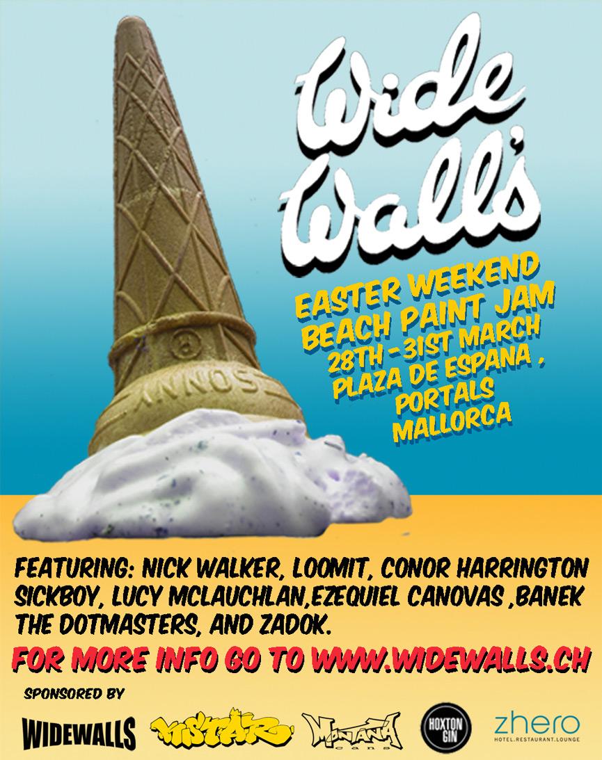Widewalls Festival Mallorca Flyer