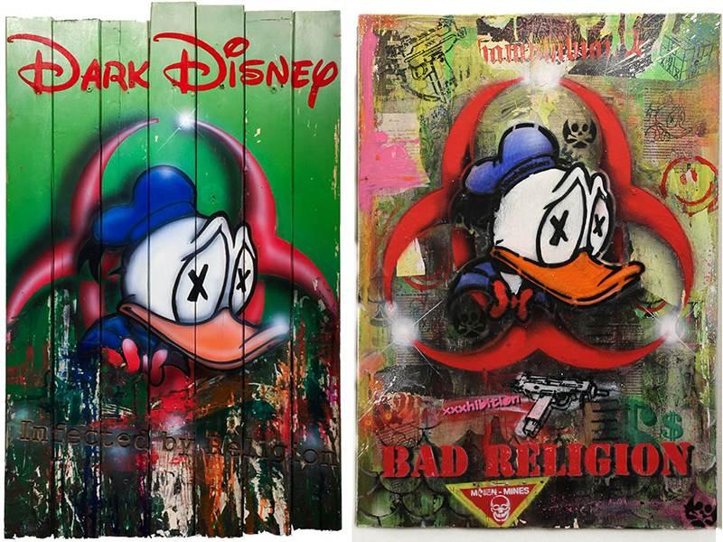 xxxhibition - Dark Disney, infected by religion and Bad religion