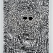 Jack Whitten. Self Portrait with Satellites