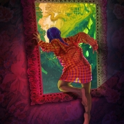 "Natalia Rak ""Through the looking glass"""