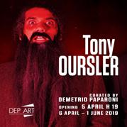Tony Oursler. Le Volcan, Poetics Tattoo & UFO
