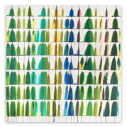 Paint Your Abstract Art Collection Green!