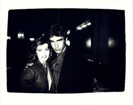 Andy Warhol, Photograph of Priscilla Presley and Michael Edwards circa 1979