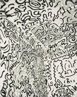 Andy Warhol, Photograph of Keith Haring