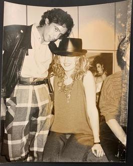 Madonna and John