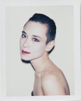 Andy Warhol, Polaroid Photograph of Tina Chow, 1985