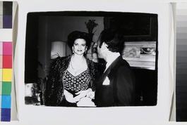 Paloma Picasso and Raphael Lopez Sanchez