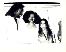 Andy Warhol, Photograph of Ashford Simpson and Diana Ross